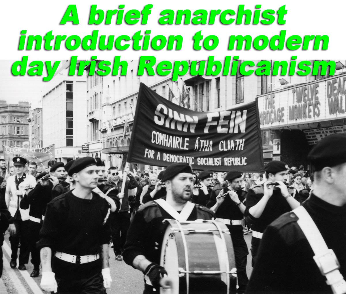 What can Anarchists learn from modern day republicanism?